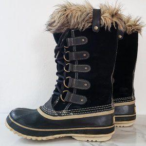 Sorel Joan of Arctic Waterproof Black/Quarry Boots